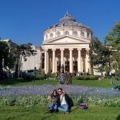The beautiful Romanian Atheneum.